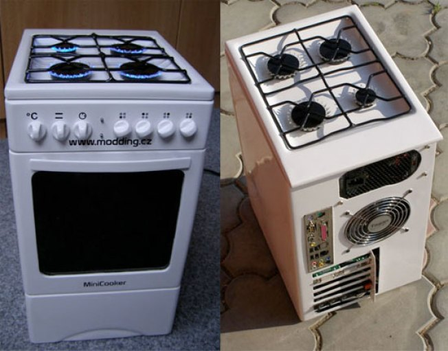PC Looks Like Stove, But Won't Cook Dinner