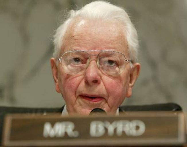 West Va.'s Robert Byrd Steps Down as Head of Sen. Appropriations Committee