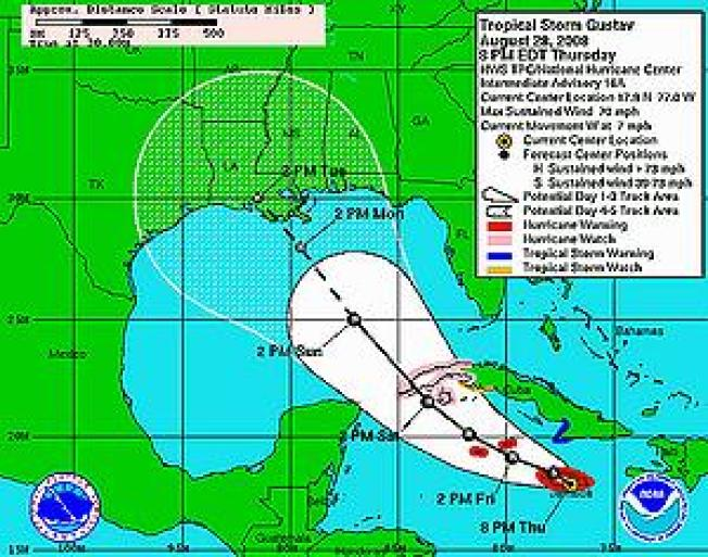 Gulf Coast Prepares to Evacuate Ahead of Hurricane Gustav