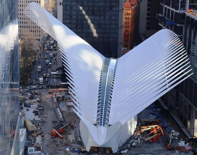 World Trade Center Transportation Hub Opens