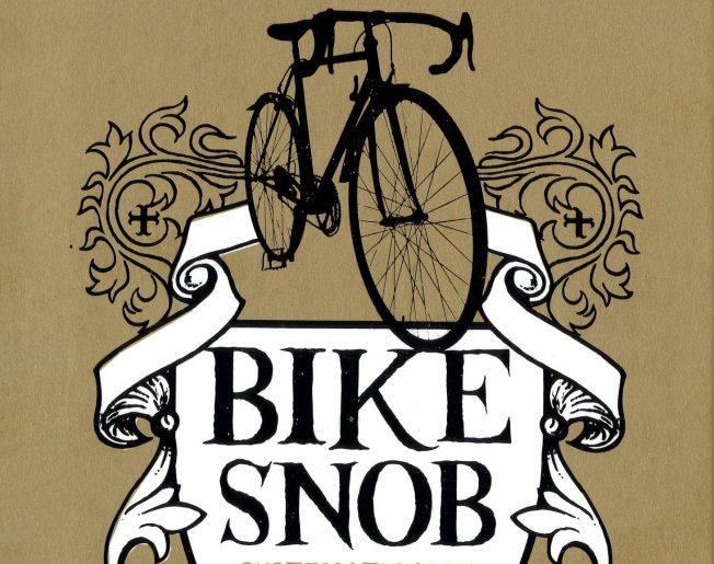 The Bike Snob Hopes You'll Read His Book in the Bathroom