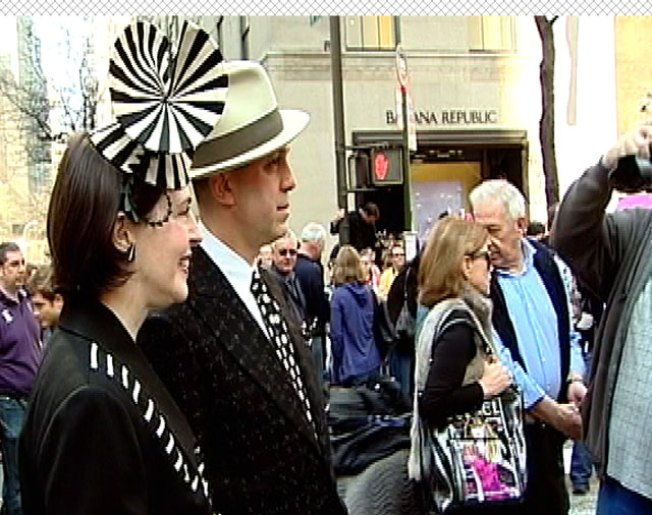 Annual Easter Bonnet Parade Decorates Fifth Avenue