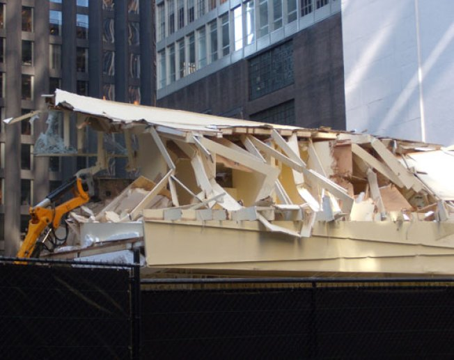 Highbrow Destroctoporn: MoMA Tearing Its Houses Down