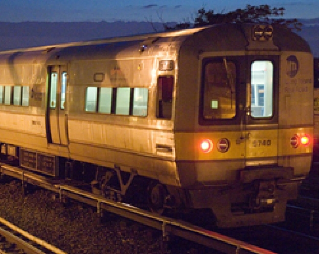 Freight Train Derails on LIRR