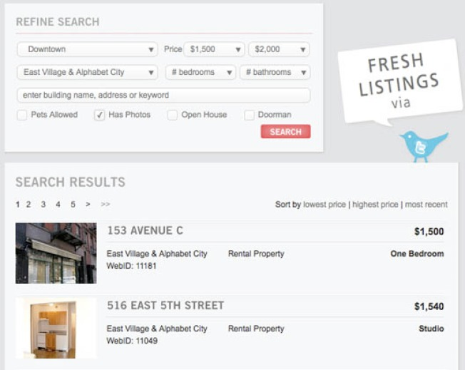 New Rental Listings Web site Aims to Keep Brokers Out