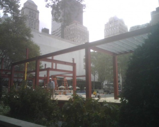 Celsius Rising: Bryant Park Readies for Winter