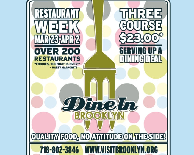 Restaurant Week Arrives in Brooklyn