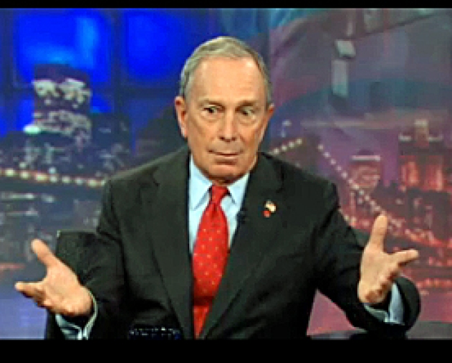 "Bloomberg Defends Mosque, Gets Laughs on ""The Daily Show"""