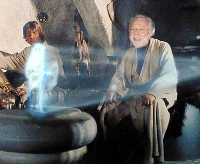 Election Night Look Back: CNN's Wolf Blitzer as Obi Wan