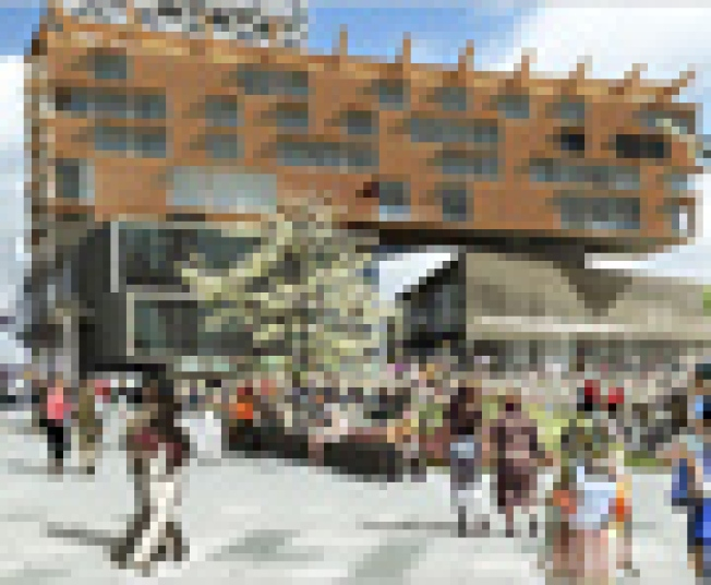 About That Seaport...: General Growth Properties, the mall developer...