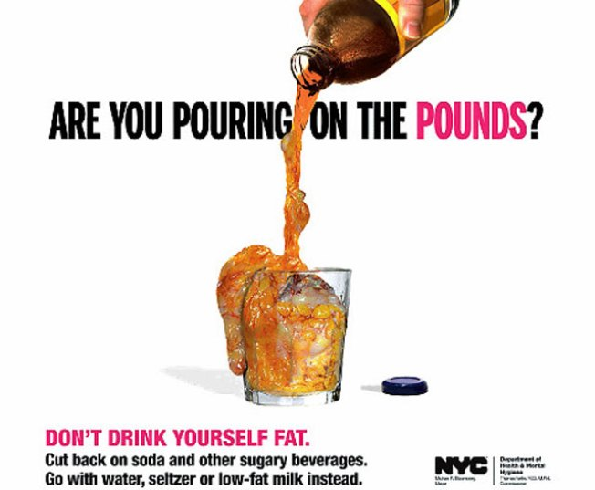 New Subway Ads Show Human Fat on the Rocks