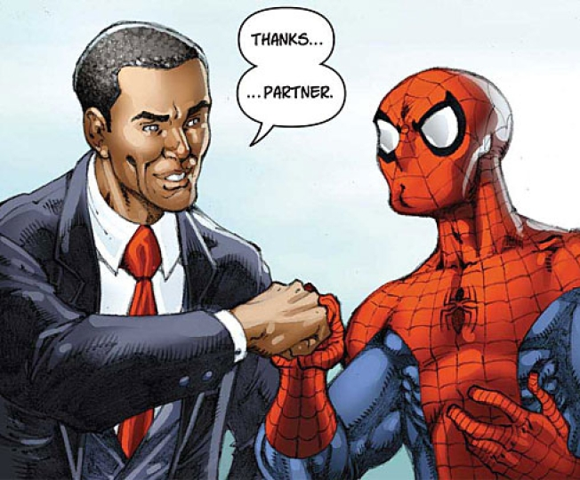 Legions of Nerds Swarm on Obama Comic Book