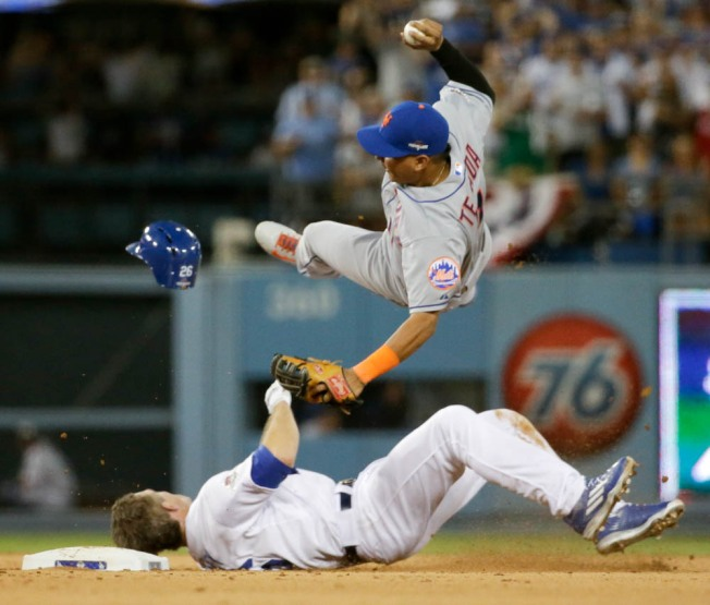 Chase Utley's Takeout Slide Sparks Debate
