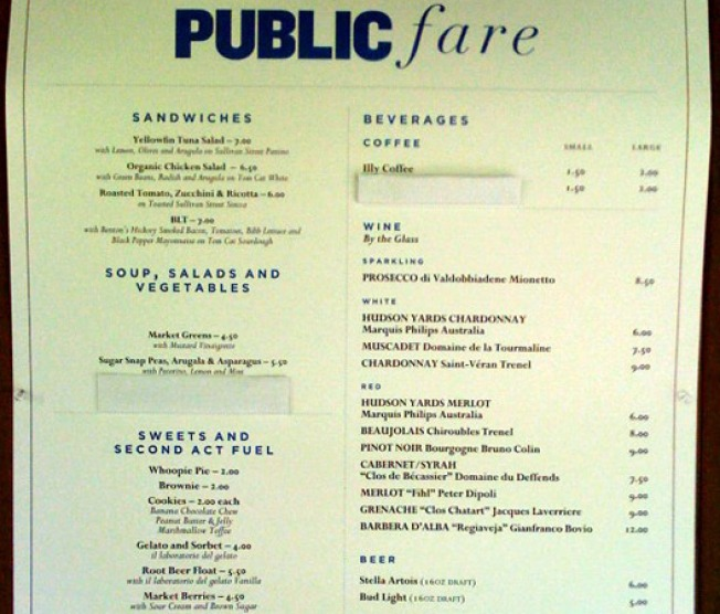 Danny Meyer's Public Fare Soft Opens to the Public
