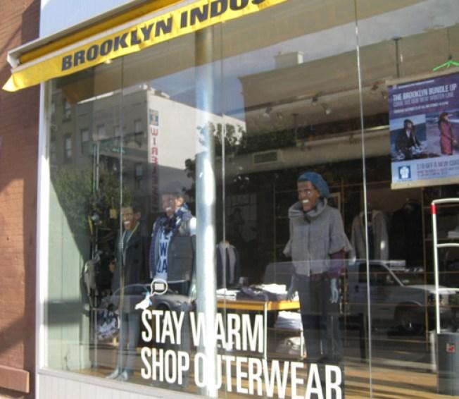 In the Window: Slope Brooklyn Industries Goes Barack