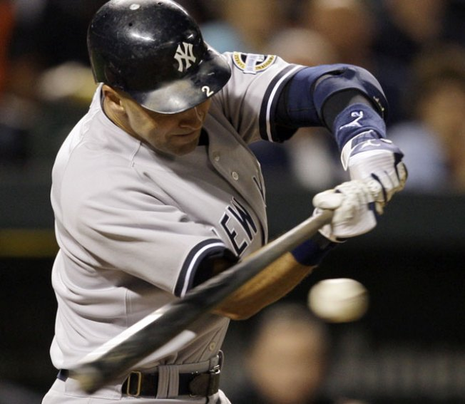 Jeter Takes Another Swing at History
