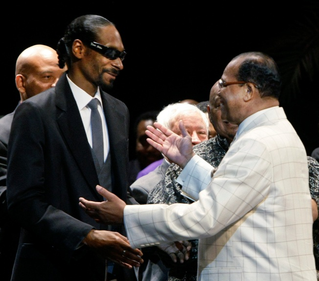 Snoop Dogg Appears at Nation of Islam Meeting