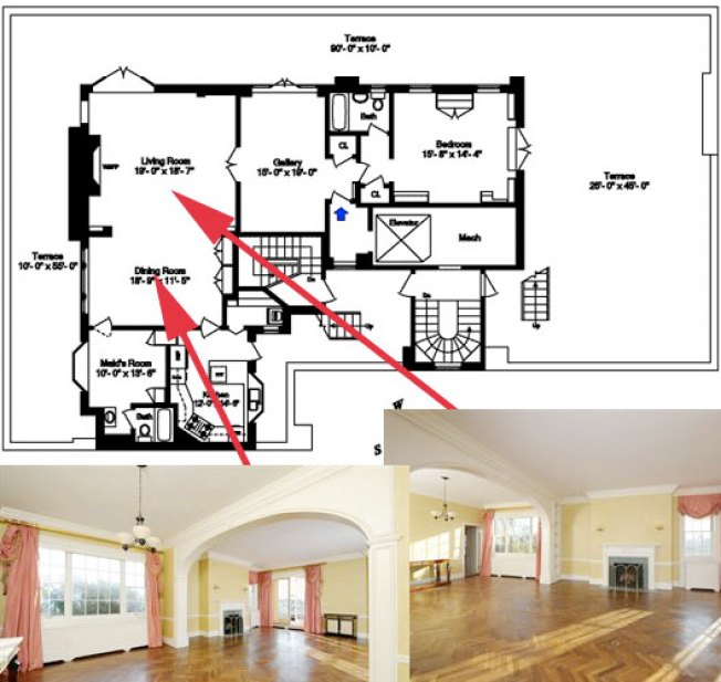 Floorplan Porn: Penthouse on Park Ave.