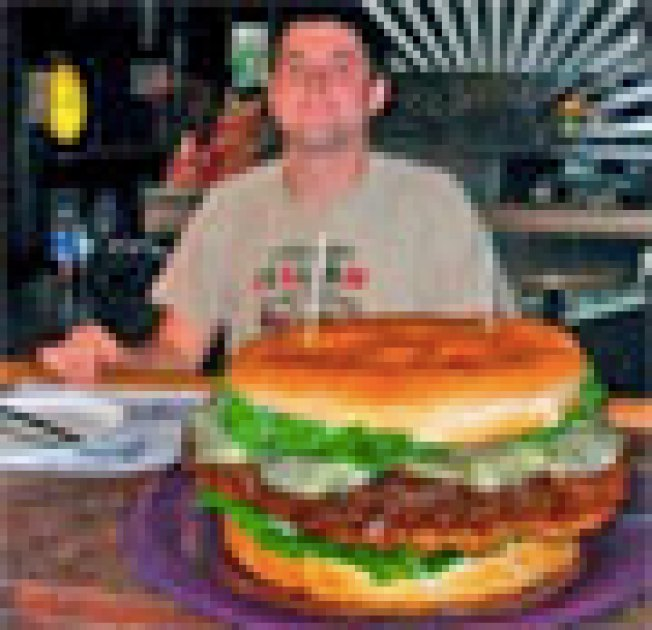 "Great Moments in Burger II: ""The burger included a bun, lettuce,..."