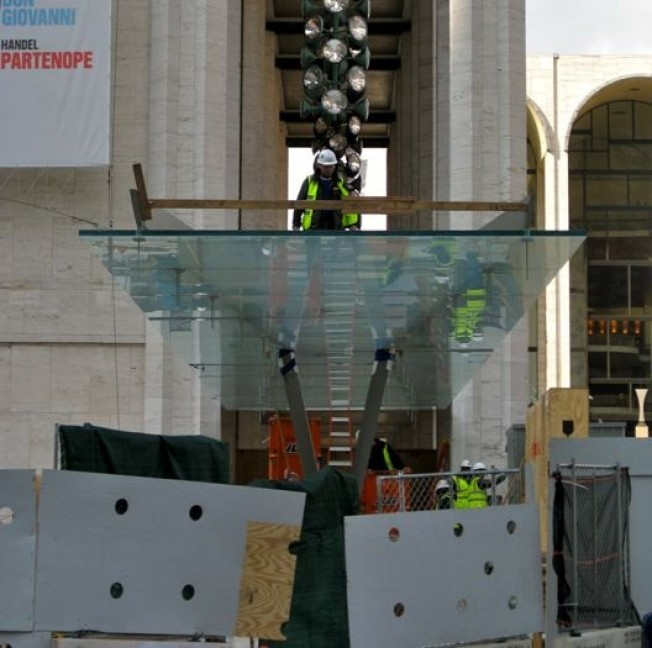 Lincoln Center Redux Now Walking on Glass