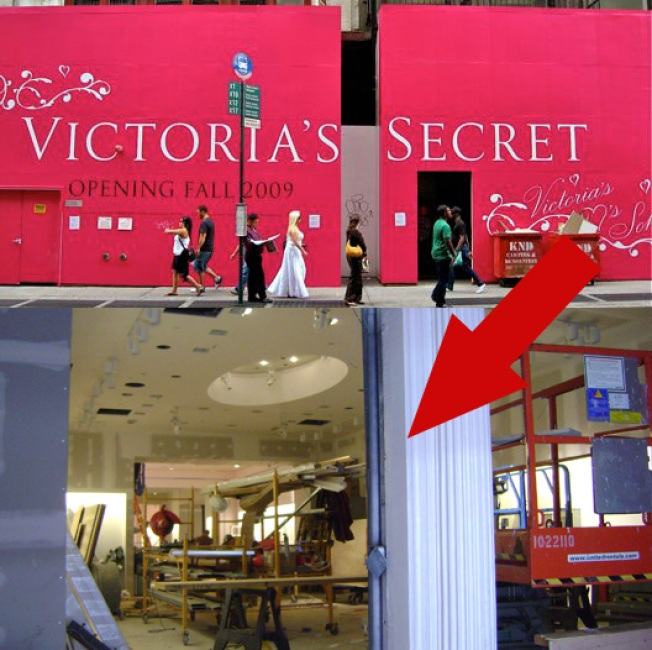 Storecasting: Victoria's Secret Gives Us A Pink Peek