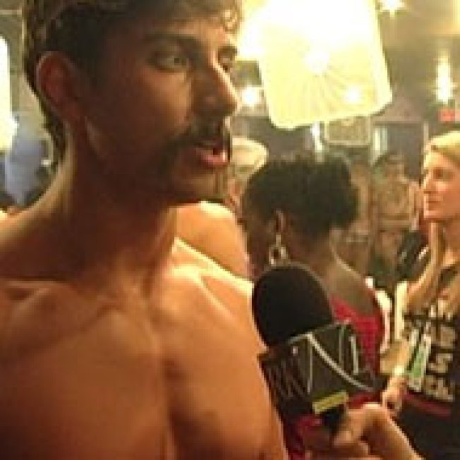 Backstage Video: Broadway Bares