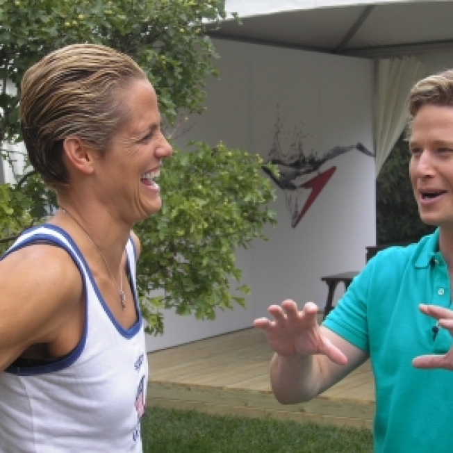 Dara Torres In Beijing: 'I Skype With (My Daughter) Every Day'