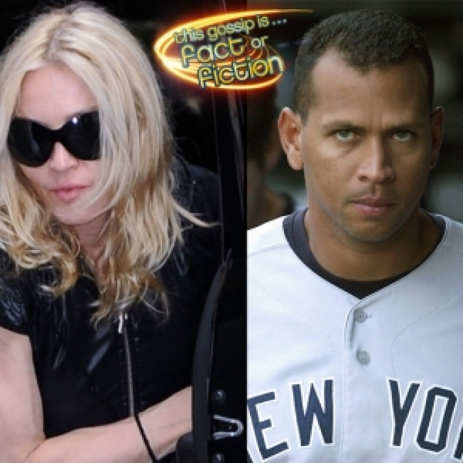 A-Rod To Spend Thanksgiving In NYC With Madonna's Family