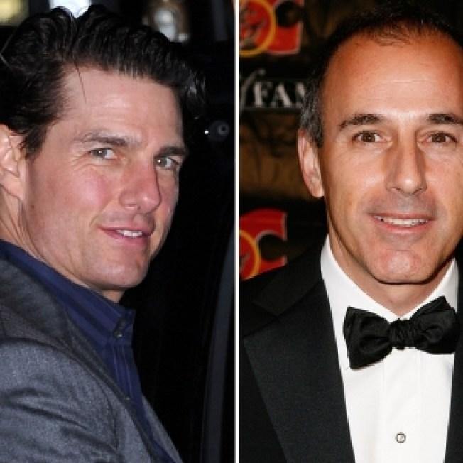 Tom Cruise Shows Up To Roast Matt Lauer