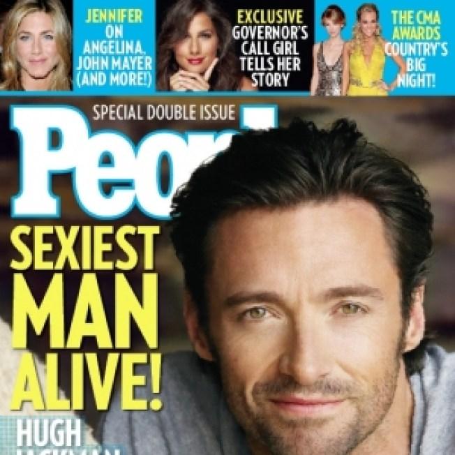 Hugh Jackman People's 'Sexiest Man Alive' 2008