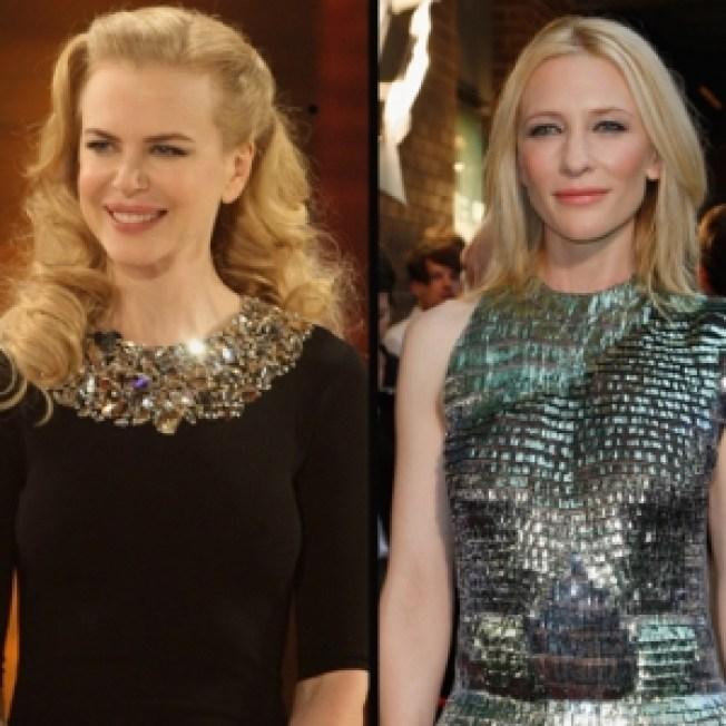 Nicole Kidman & Cate Blanchett Get Stamped Down Under