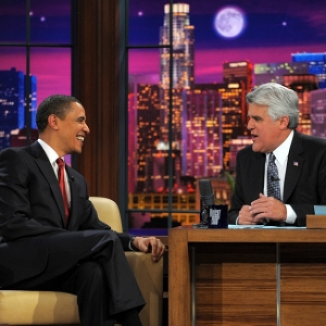 President Barack Obama Visits 'Tonight Show'