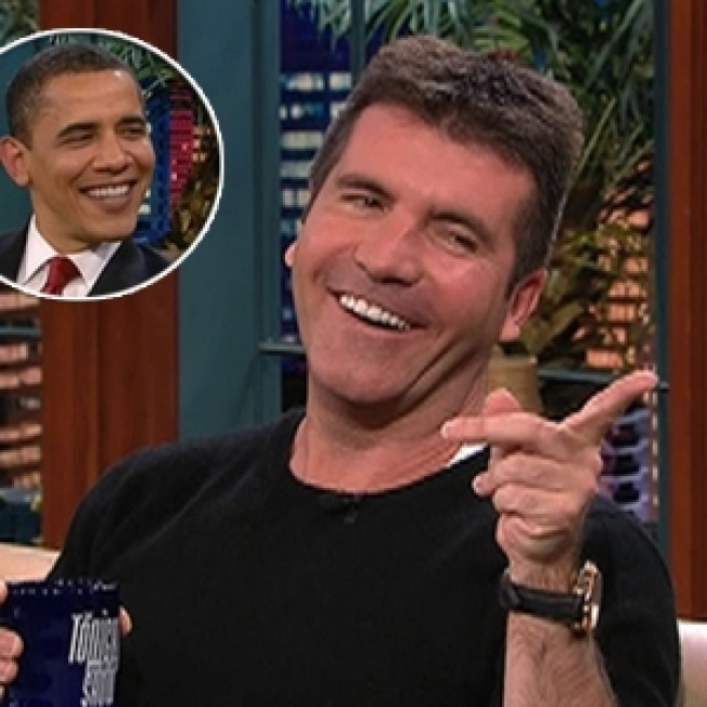 Simon Cowell RSVPs Regrets To Obama's Dinner Invite