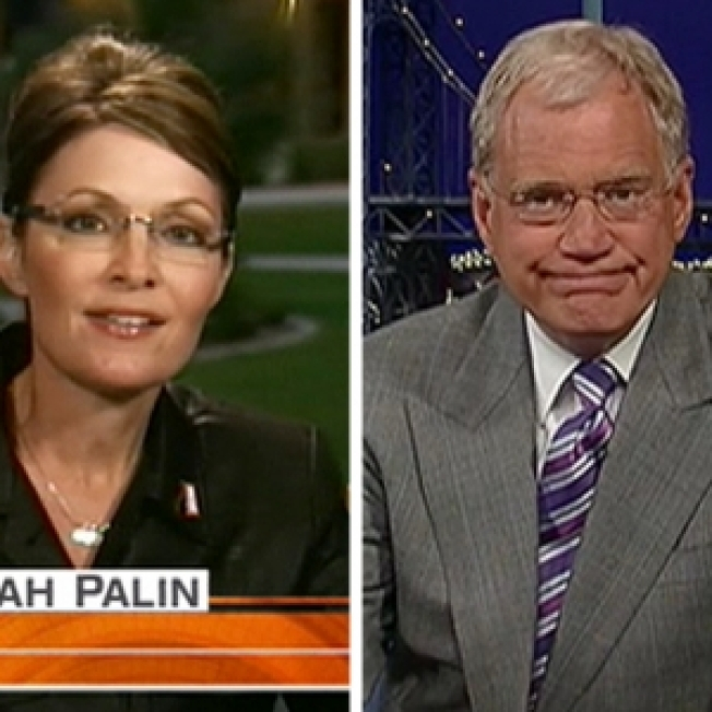 What Was She Thinking? Palin Brings Attention To Letterman - Could She Be His Hugh Grant?