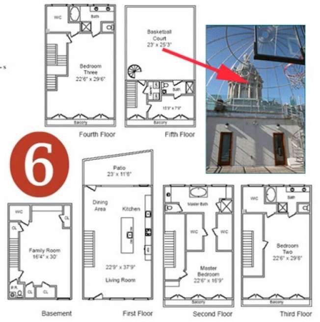 Curbed Awards '09 Real Estate: Best Floorplan Porn!