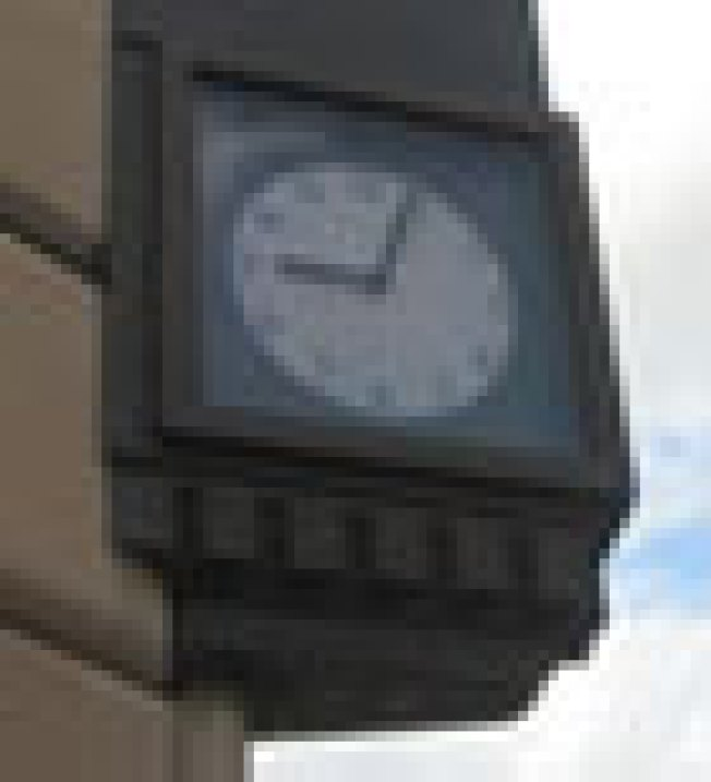Trader Joe's Repairs Time: The clock that adorns the Brooklyn...