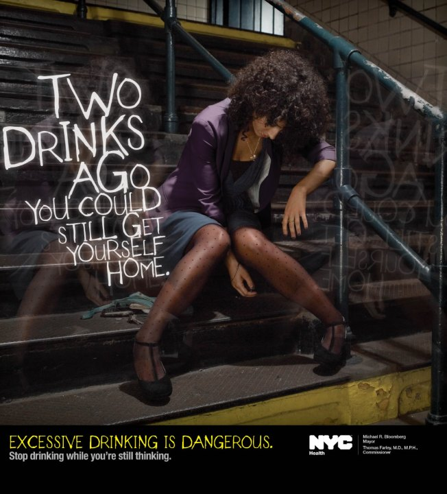 City to New Yorkers: Quit Boozing it Up!