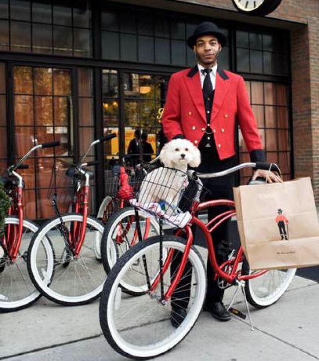 Free Bikes at Bowery Hotel