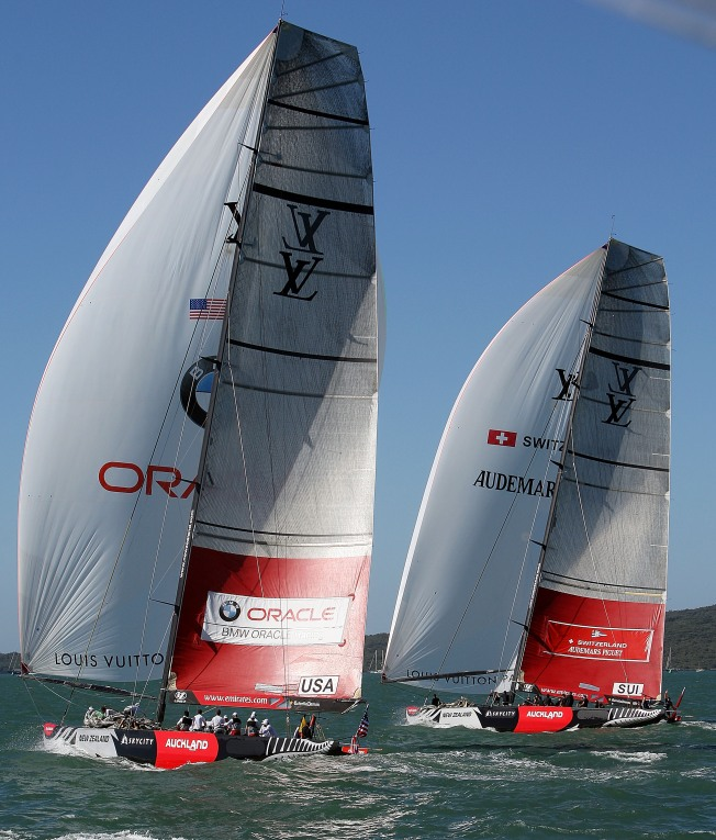 Persian Gulf Port Dispute in America's Cup