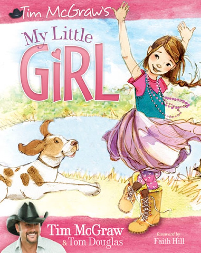 Tim McGraw Pens Kids Book On Dads & Daughters