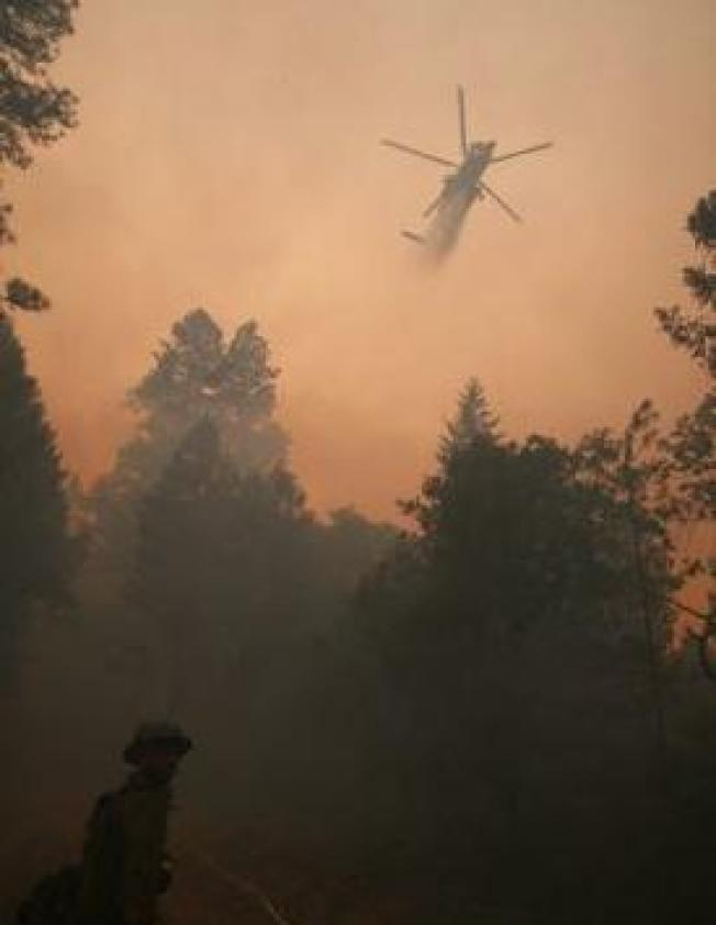 Nine Presumed Dead in California Fire Helicopter Crash