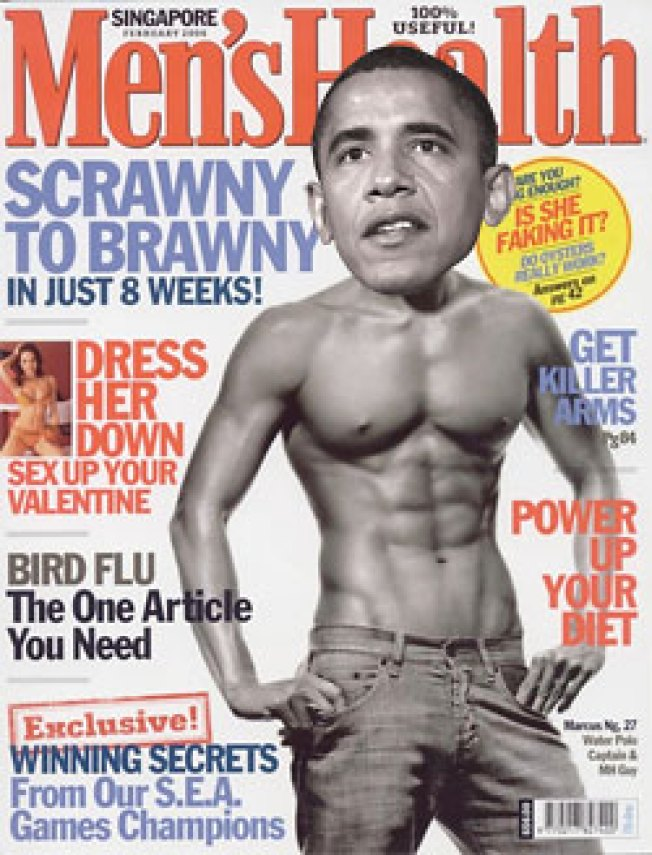 Barack Obama to Pose for November Cover of 'Men's Health'