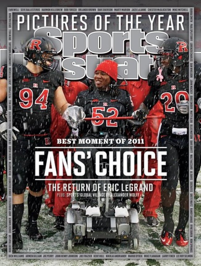 Eric LeGrand's Return to Field Voted by Fans as S.I.'s Moment of the Year