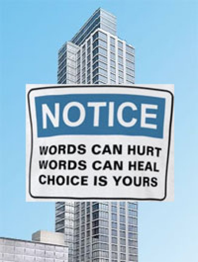 Condo Board Tells Residents to Use Nice Words, Or Else