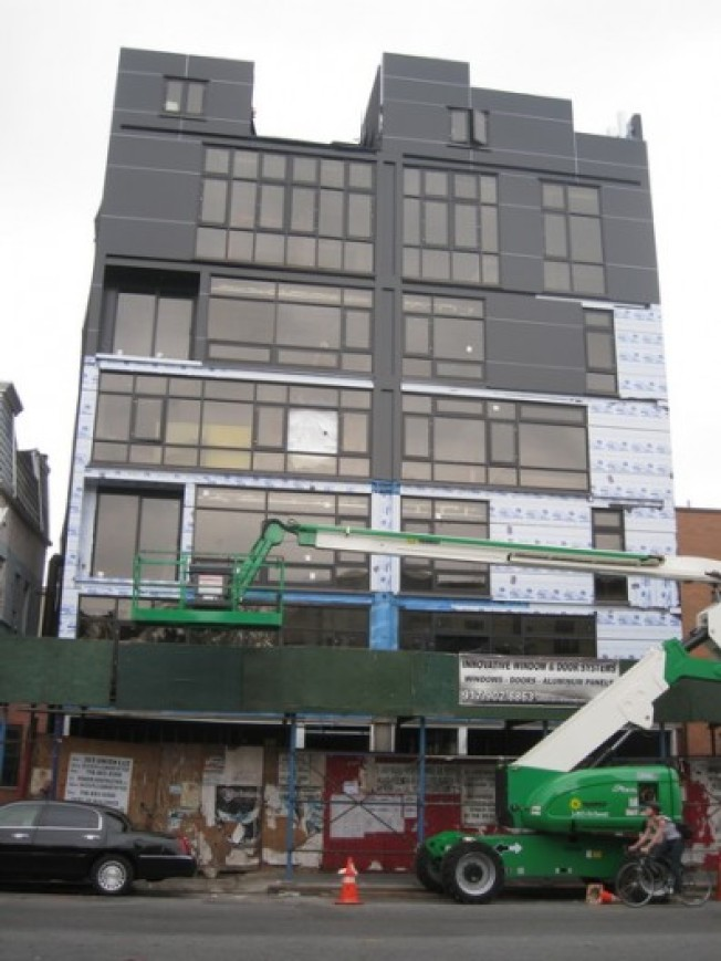 Construction Watch: Scarano's Union Ave. Prince of Darkness