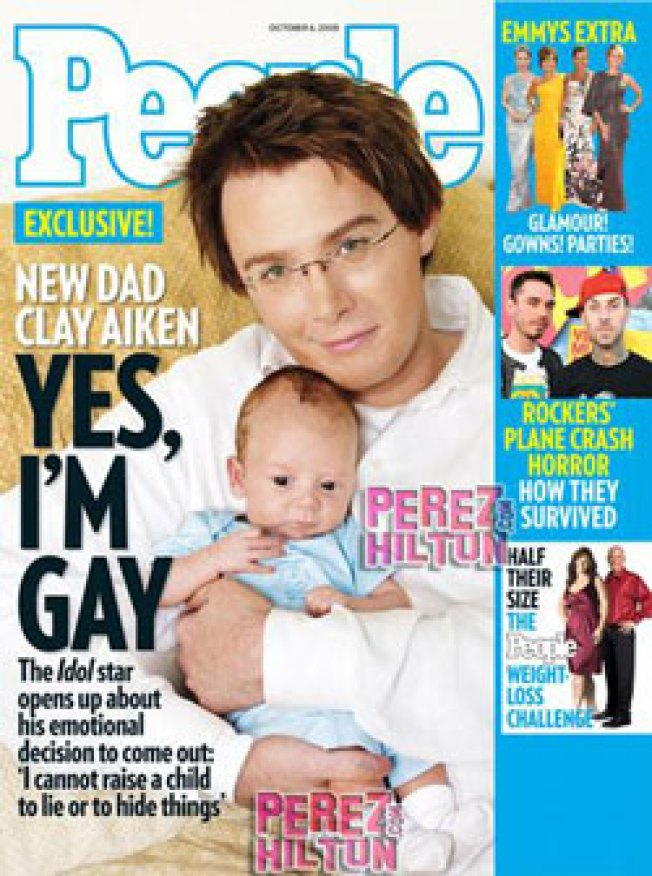 Clay Aiken Comes Out of the Closet