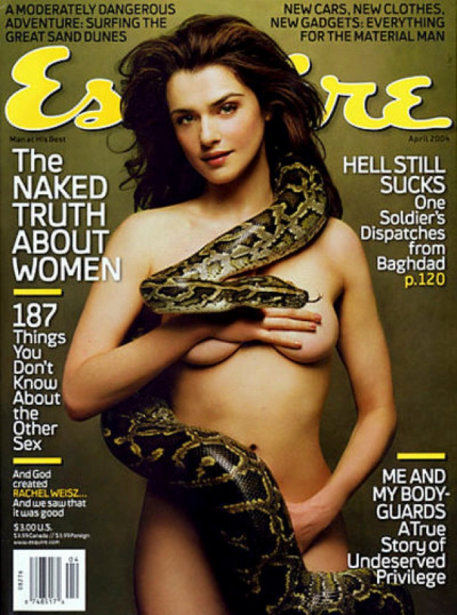 Rachel Weisz, Director Hubby Splitting