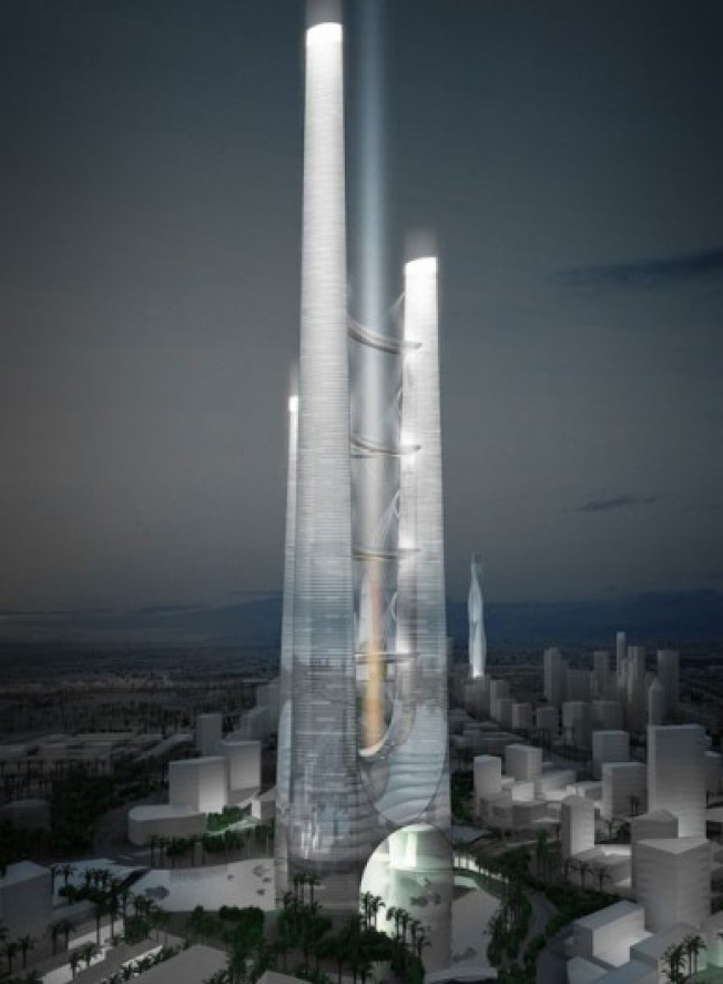 Eye on Dubai: Want to Live in a Skybridge?