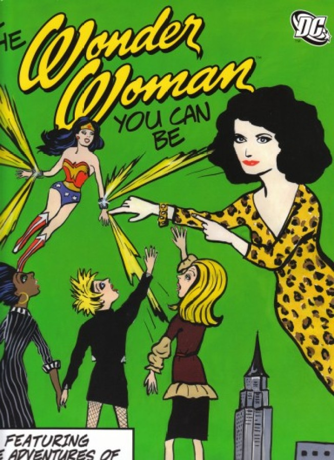 Bam!: DVF Debuts Wonder Woman Comic