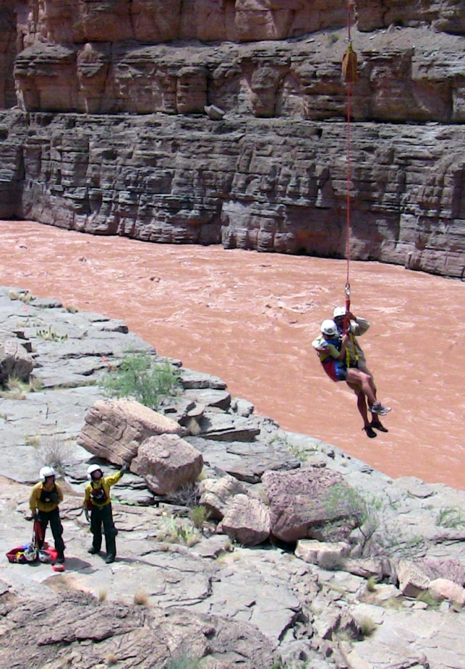 Rescuers Search for Missing in Grand Canyon